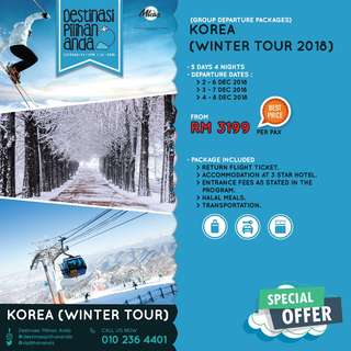 Korea Winter Tour 2018