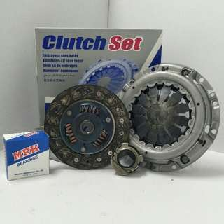 NS543029U - Exedy clutch kit set - Nissan Sunny, only 130Y, C22 with MRK clutch bearing (Made in Japan)