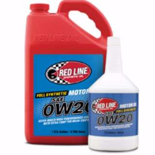 Red Line High Performance Motor Oil 0W20