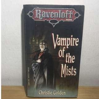 Ravenloft Series of books #1 - Vampire of the Mists   #4 - Heart of Midnight