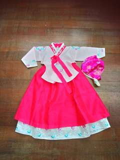 Girl Korea Costume 4-5y