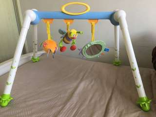 Foldable baby gym