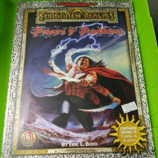 Adv Dungeons & dragons forgotten realms powers of pantheons