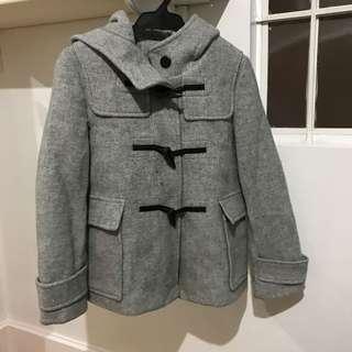 GU Gray Coat w/ Hoodie