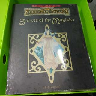 Adv dungeons & dragons forgotten realms secrets of the magister
