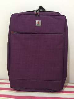 (New) Polo classic- purple backpack