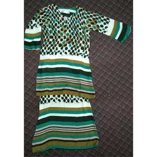 Baju Kurung Budak Kanak-kanak Perempuan 6-7 tahun