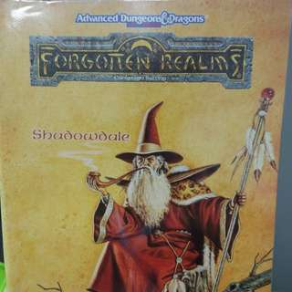 Adv dungeons & dragons forgotten realms shadowdale campaign
