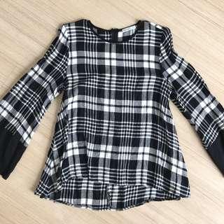 FV Basic Checkered Blouse