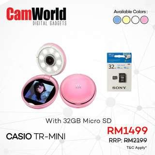Casio TR Mini Bundle