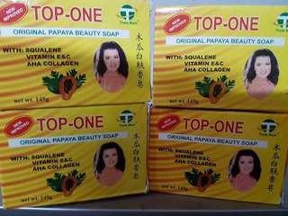 TOP ONE SOAP 100%ORIG AND LEGIT GRAP YOURS BESHYWAPS