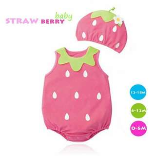 Fun Baby Costumes Strawberry