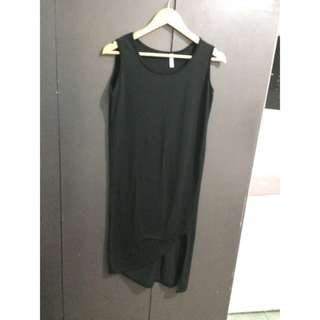 Divided by H&M black pullover dress