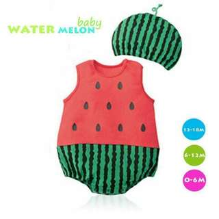 Fun Baby Costumes Watermelon