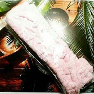 [💞全館買二送一]粉紅 彈性 髮帶