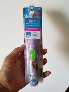Disney Frozen Oral-B Electric Toothbrush for kids