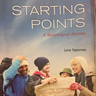 Starting Points a Sociological Journey