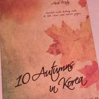 Novel 10 Autumns In Korea
