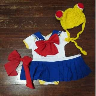 Sailormoon Baby Girl Costume