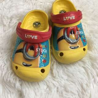 [PL] Minions Yellow waterproof sandal footwear shoes children toddler