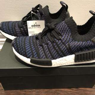 Adidas NMD R1- black and blue