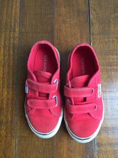 Superga Brick Red Sz11