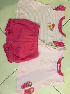 Reduced CARTER SET OF 3pcs 3 mth