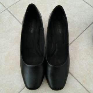 Comfort Plus Black Shoes
