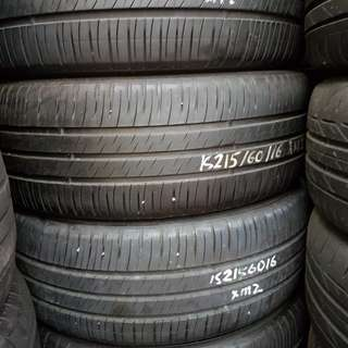 Michelin 215/60r16 80% used tyre