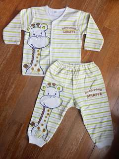 "Baby Pajamas ""Pong Pong Giraffe"""