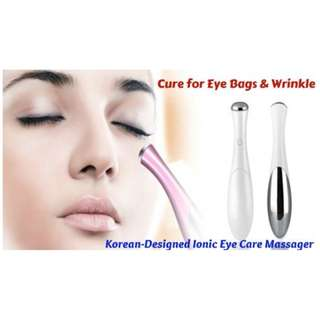 Korean Ion Eye Massager + Sessenz Eyecare Ampoules