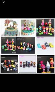 PO kids birthday cake Toppers Brand New set pm me For Details other character I do have too