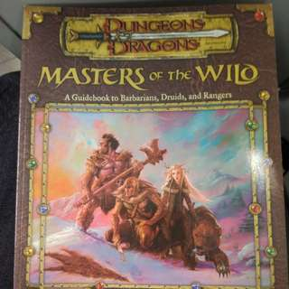 Dungeons & dragons masters of the wild