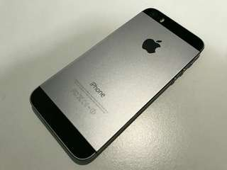 IPHONE 5S SPACE GREY!