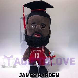 James Harden Graduation Plush Gift Set