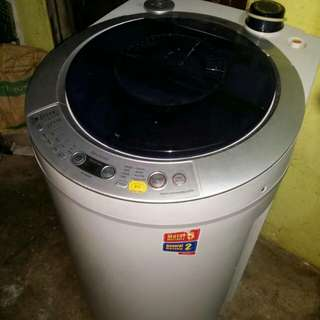 mesin basuh washing machine Sharp