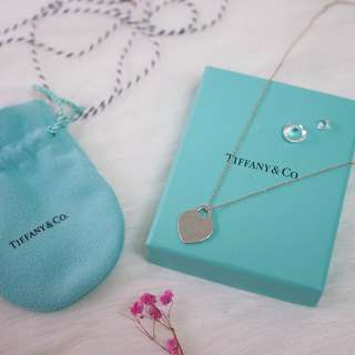 💥TIFFANY & CO CLASSIC NECKLACE  純銀 正品