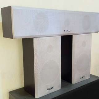 KODA Rear Surround and Center Speakers for Home Theater and Computer Gamers