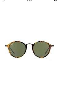 NEW Genuine Ray Ban RB2447 1157 49 Havana green Mens Womens Sunglasses Glasses