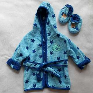 Baby Bath Robe Set