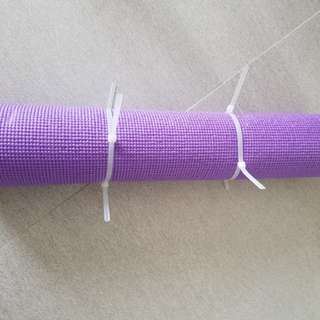 紫色瑜伽蓆89成新