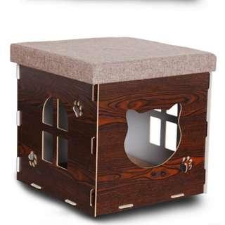 🐈🐱木板貓貓屋🐾🐾(3款呎碼選擇)