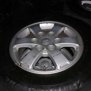 USED MAGS for Car size 17