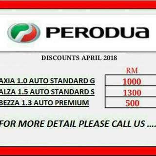 Perodua baru 0 deposit full loan, free gift, diskaun, skim graduan baru keje pun boleh apply, apply loan senang online jer jimat masa, wang dan tenaga