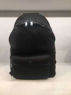 Dior Homme SS18 黑色 Canvas Backpack