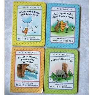Winnie the Pooh boardbooks