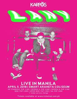 LANY - VIP tickets