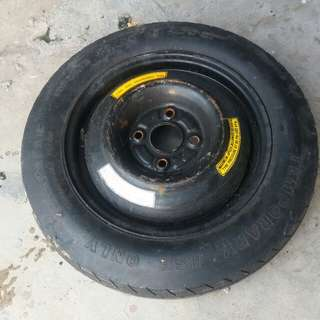 Spare tyre 4 screw