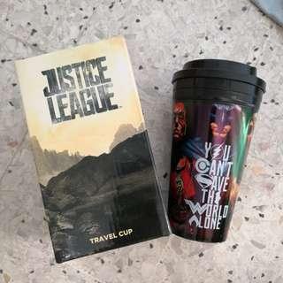 Tumbler justice league travel cup