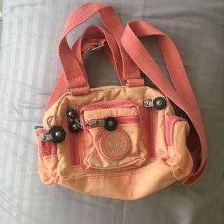 Authentic Kipling Sling Bag in Pink